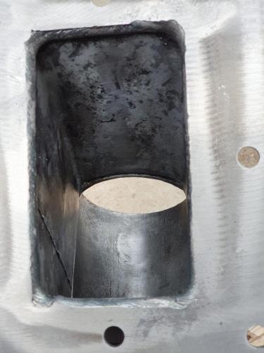 Metalinių detalių valymas sausu ledu.Po