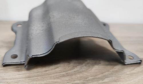 Metalinių detalių smėliavimas.Po