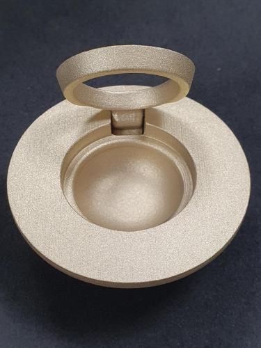 Стеклоструйная обработка бронзыюПосле